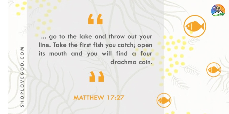 Fish and Four Drachma Coins Daily Devotion